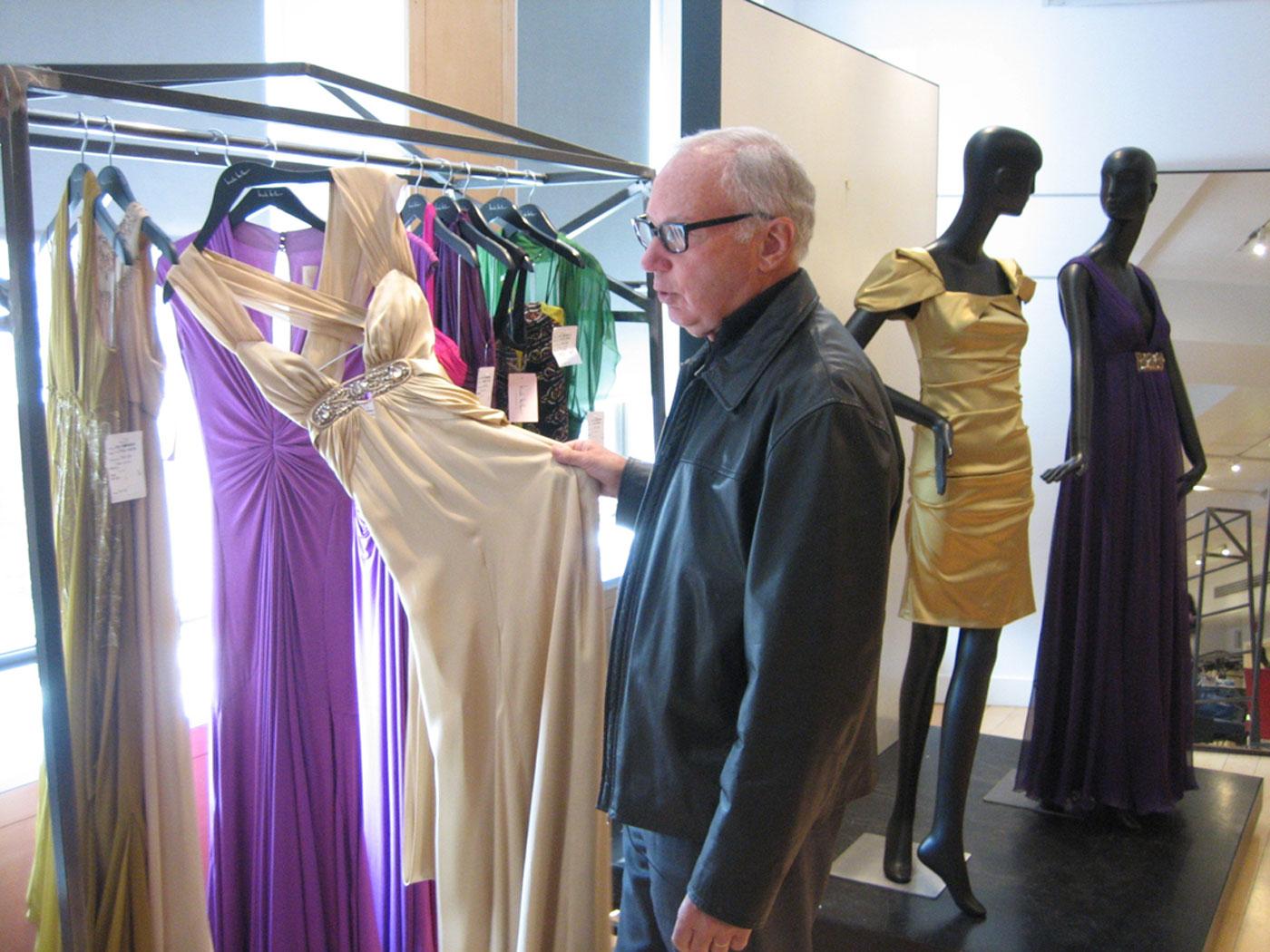 Bud Konheim at Nicole Miller for Dressing America