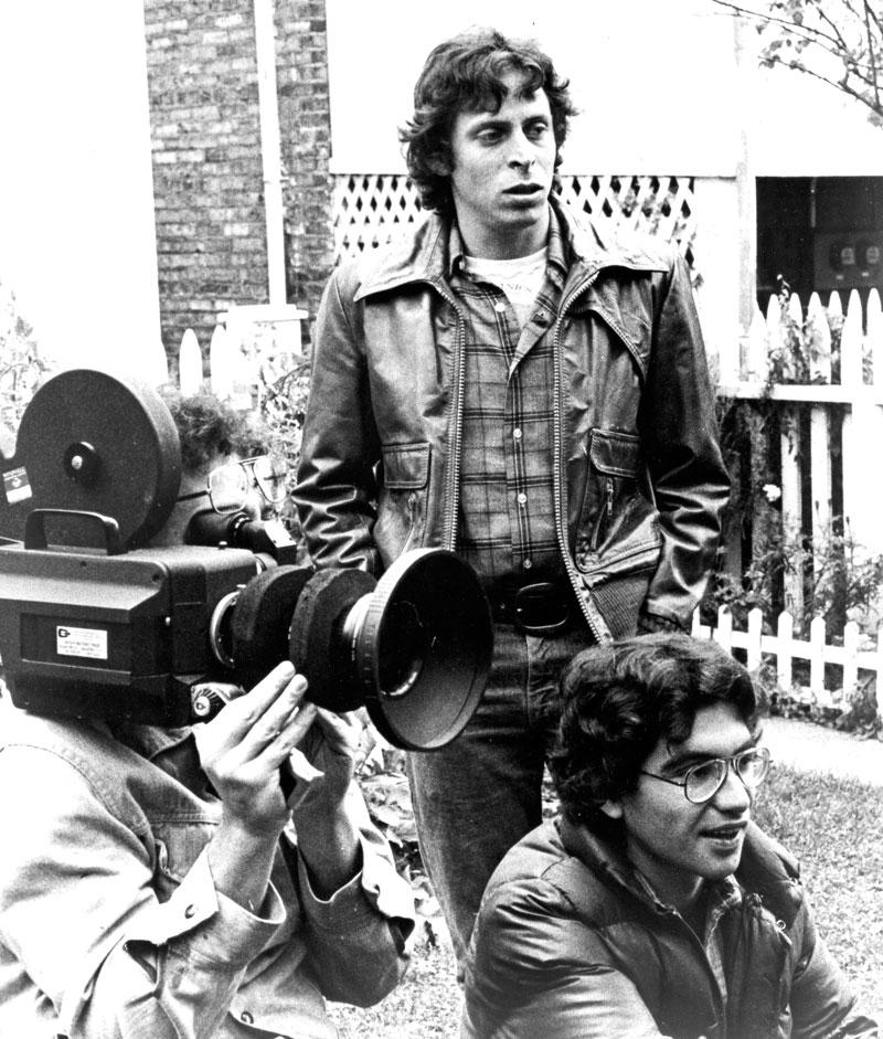 Steve and Joe on the set