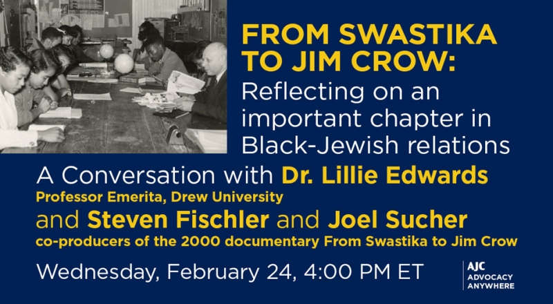 From Swastika to Jim Crow: Reflecting on an important chapter in Black-Jewish relations